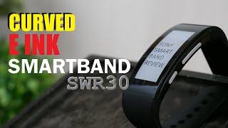 Sony Curved E INK SmartBand Talk SWR30
