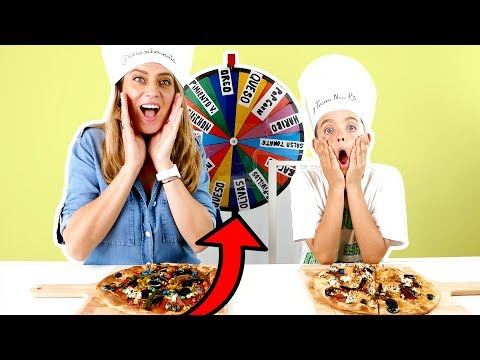 MISTERY WHEEL PIZZA CHALLENGE