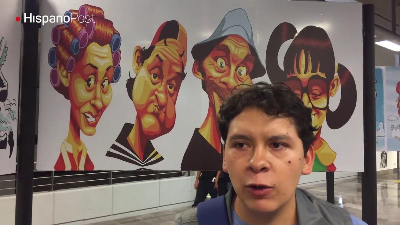 Caricaturistas latinos rinden homenaje a Chespirito