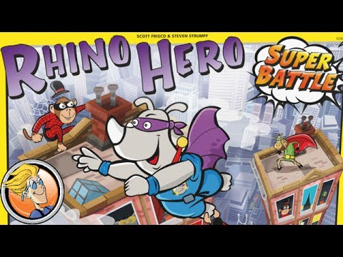 Rhino Hero - Super Battle Game