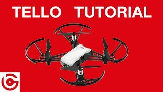 DJI TELLO - Tutorial and Quick Review