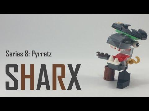 Vidéo LEGO Mixels 41566 : Sharx