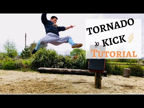 How to Master Your Tornado Kick - Step by Step Shaolin Kung Fu Tutorial