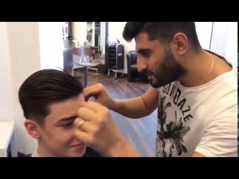 Wie dem fettigen Haar der Maske für zu entgehen