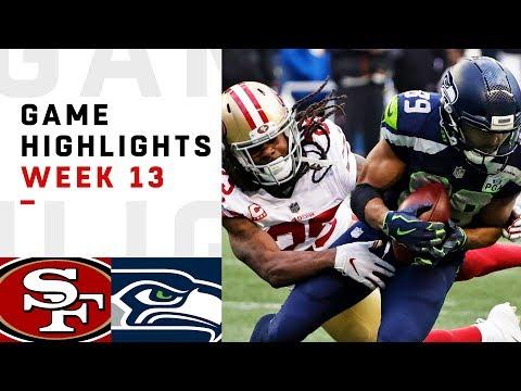 49ers vs. Seahawks Week 13 Highlights | NFL 2018