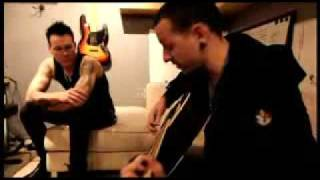 "Chester plays ""Let Down"" - ACOUSTIC"
