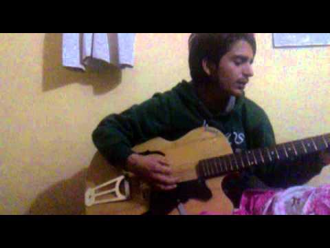 biratako chino  guitar cover elecronic mix by subash
