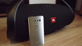 JBL Boombox Bass Test (with LG V30)