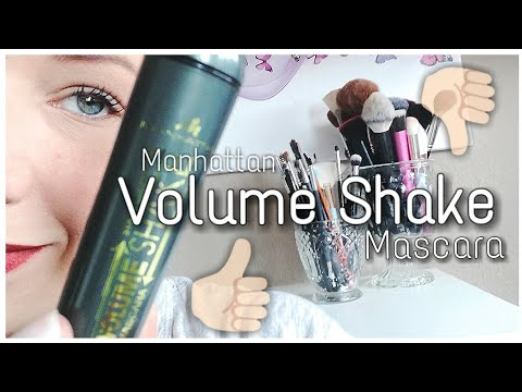 Manhattan Volume Shake Mascara | One Product Review