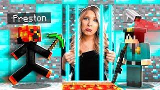 Saving My Wife From Diamond Minecraft Prison