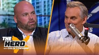49ers d-line is as good as it gets, talks Brady's future, Burrow — Andrew Whitworth | NFL | THE HERD