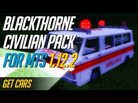 How to get Transport Simulator Packs [MTS packs] Minecraft 1.12.2 - install BlackThorneCivilian Pack