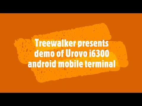 I6300 Urovo Android Mobile Computer