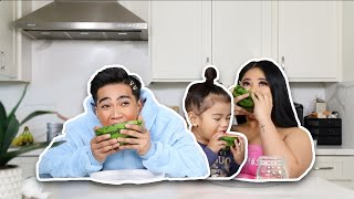 SPEED EATING CHALLENGE feat. My Sister and Cleo