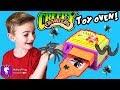 Make BUGS and COOK Creepy Crawlers Kit! Smash and Grind + Giant Tarantula Spider Scare HobbyKidsTV