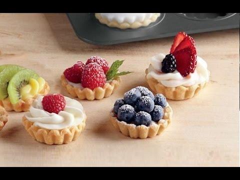 Crostatine alla frutta e crema pasticciera,RICETTA PERFETTA