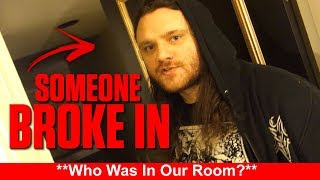 THERE WAS A GHOST IN OUR HOTEL ROOM!!