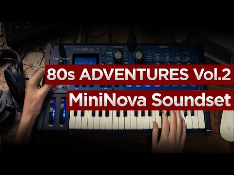 80s Adventures Vol.2 Novation UltraNova / MiniNova SoundSet