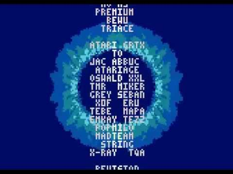 Arsantica final by Desire - Atari XL/XE demo - Revison 2014