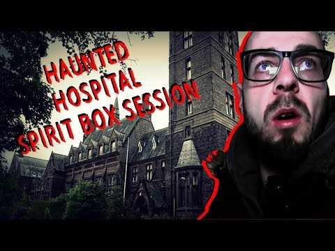 UK's Most Haunted Abandoned Asylum Spirit Box Session