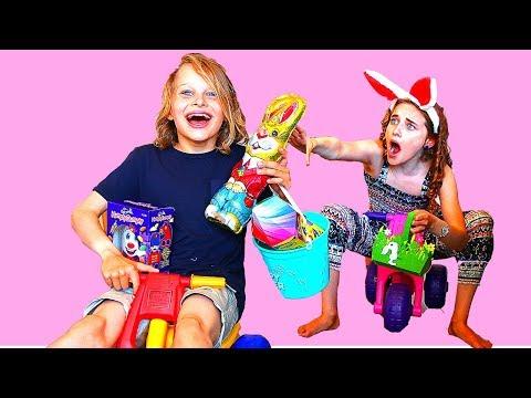 EASTER SIBLING KID VS KID 3 Challenge By The Norris Nuts