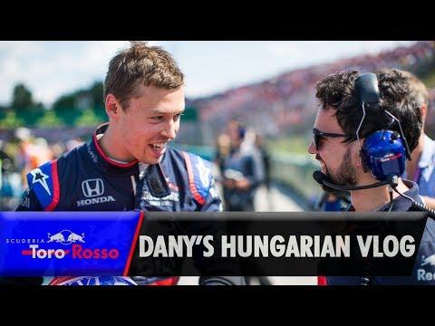 Daniil Kvyat's Hungarian GP Vlog