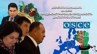 Туркменистан: Делегаты Харамдага на ОБСЕ Продемонстрировали Преданность Диктатуре в Стране