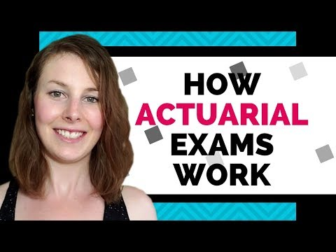How actuarial exams work (Everything you need to know) - YouTube