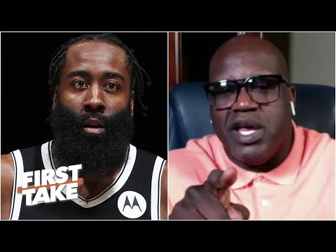 I'm not a 'Yes Man' - Shaq responds to James Harden | First Take