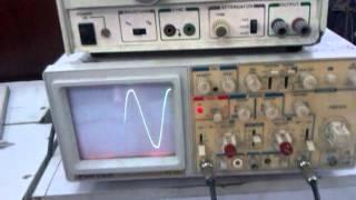 Video Đo lường điện, tần số dao động