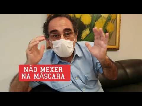 Infectologista de MT ensina forma correta de usar e higienizar a máscara