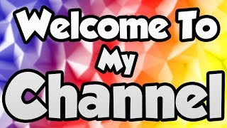 Welcome to my Channel!!!