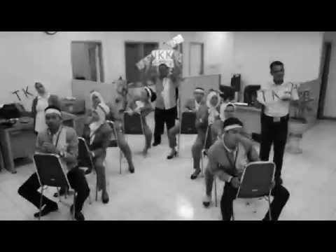 Yel yel BPJS Ketenagakerjaan Samarinda (old film version)