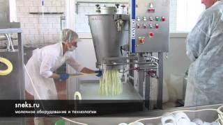 Агрегат формирования сырной нити