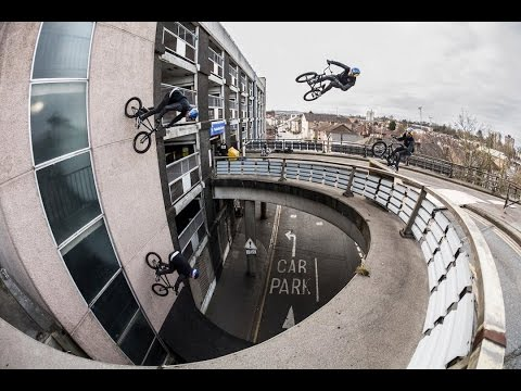 JUMPING OFF BRIDGES ON BMX! BEHIND THE SCENES OF WALLS