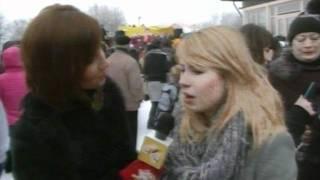 Телеканал СТС, Анна Цуканова на Масленице СТС!