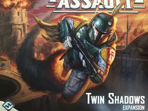 Quiarcus Unboxes - Star Wars Imperial Assault Twin Shadows