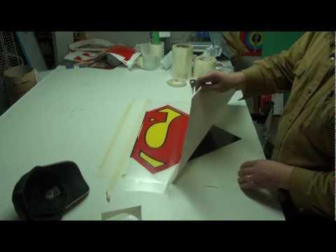 "BIG BIG NEWS FOR BILLSTMAXX!!!!!  NATIONAL TV (hopefully) building 24"" superman decals"