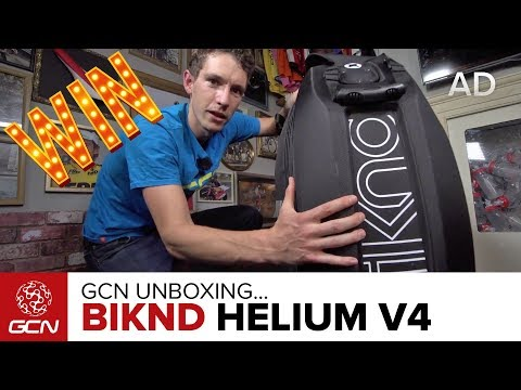 Unboxing The biknd Helium V4 Bicycle Travel Case | Win With GCN!