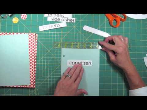 Video Cute Handmade Recipe Book