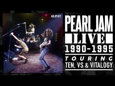 Pearl Jam - ALIVE! -- Touring Ten, VS & Vitalogy ** — Pearl