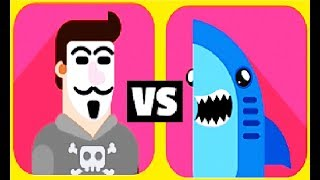 Bowmasters #25 Мультфильм Игра про ДУЭЛЬ ГЕРОЕВ Игровой мультик для детей Боумастер