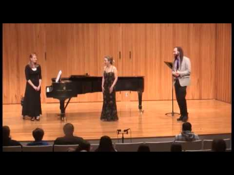 The first of three parts of Roxanne's Senior Voice Performance Recital.