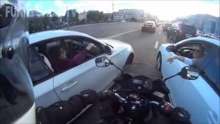 Мотоциклисты помогают незнакомцам\The motorcyclists help strangers #4