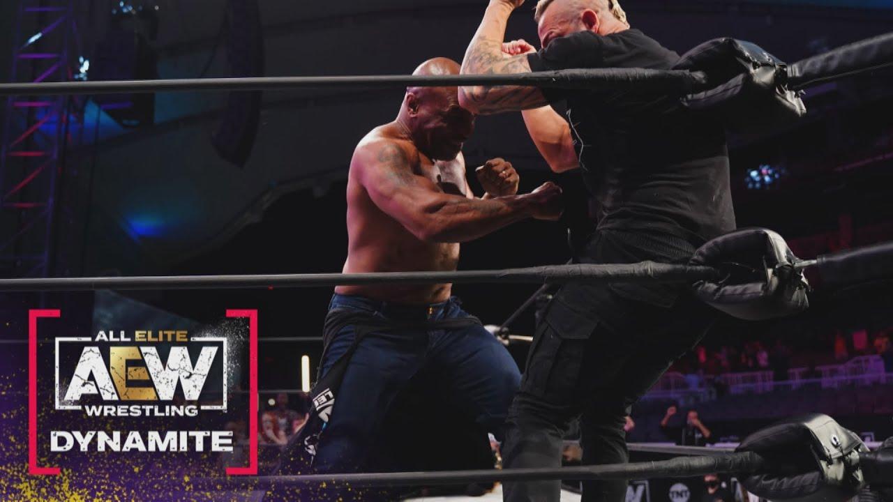 Mike Tyson Returns To AEW Dynamite