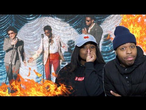 FAT OR SKINNY GUCCI?? 🤔| Gucci Mane, Bruno Mars, Kodak Black - Wake Up in The Sky | REACTION!!