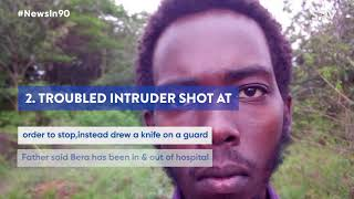Strange burial for billionaire, Troubled life of intruder shot at State House | #NewsIn90