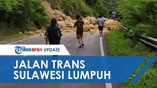 Gempa yang Guncang Sulawesi Barat Akibatkan Longsor, Jalan Trans Sulawesi Lumpuh Total