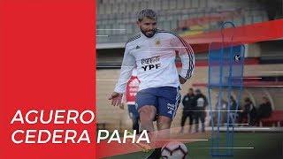 Aguero Dipastikan Absen di Pertandingan Derbi Manchester karena Cedera Paha