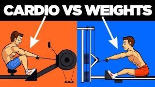 Cardio vs Weights (Best Way to Burn Fat)